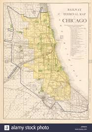 Chicago Ord Terminal Map by Map Of Chicago Stock Photos U0026 Map Of Chicago Stock Images Alamy