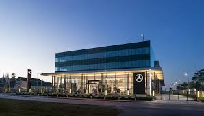 mercedes headquarters topgear malaysia mercedes benz malaysia and hap seng star