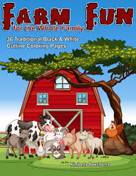 country farm coloring books adults coloring books