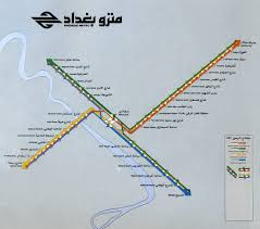 Baghdad Map Submission Historical Map Proposed Baghdad Transit Maps