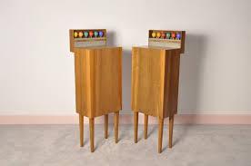 mid century modern disco speakers stands retros
