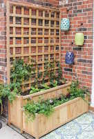 tier planter box woodworking plans and information at