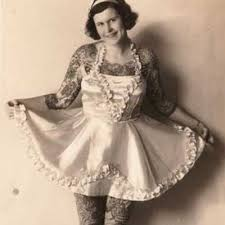 nora hildebrandt the first tattooed lady