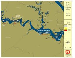 Map Of Richmond Va Norfolk District U003e About U003e Projects U003e James River Navigation