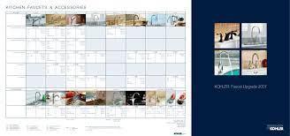 kitchen faucets u0026 accessories kohler pdf catalogues