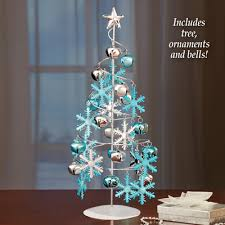 tabletop christmas tree spiral ornament tabletop christmas tree from collections etc