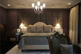 Padded Walls Wall Of Upholstered Panels Traditional Bedroom Chicago Bedroom