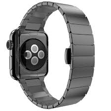 black strap bracelet images 42mm 38mm link bracelet for apple watch band series 3 2 1 jpg