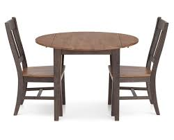 Drop Leaf Dining Room Table by Hudson Park 3 Pc Round Drop Leaf Dining Room Set Furniture Row