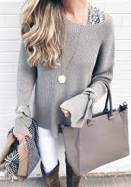trendy fall sweaters 2017 spotlight on statement sleeve sweaters