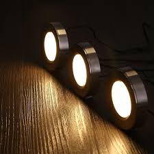 240v under cabinet lighting led under cabinet lighting kit 3w puck lights satin nickel finish
