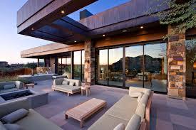 hampton bay pergola patio contemporary with blonde wood cement