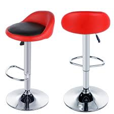 Height Of Stools For Kitchen by Furniture Charming Red Bar Chairs Kitchen Stools Uk Homdox Pu