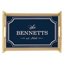 personalized serving trays fall home kitchen decor 904 custom