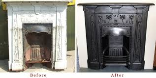 Victorian Cast Iron Bedroom Fireplace Restoring A Period Fireplace