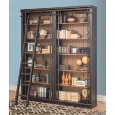 Wall Bookcases With Doors Library Wall Bookcases And Bookshelves Hayneedle
