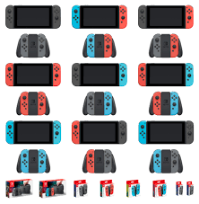 Colorcombinations All 9 Joy Con Color Combinations Nintendoswitch