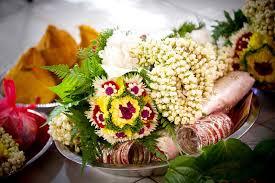 flower garland for indian wedding indian wedding flower garlands stock image image of coconut