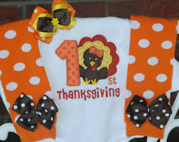 Thanksgiving Dresses For Infants First Thanksgiving Etsy