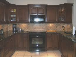 kitchen awesome cherry kitchen cabinets with granite countertops