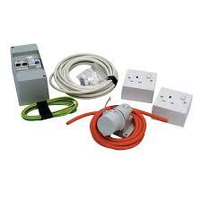 caravan mains electric diy installation kit consumer units