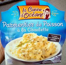 produit cuisine parmentier de poisson à la ciboulette la cuisine d oceane 300 g