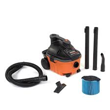 ridgid 4 gal 5 0 peak hp portable wet dry vac wd4070 the home depot