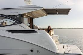 first photos of new 2016 sea ray 400 sundancer with hardtop and