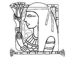 imagenes egipcias para imprimir dibujo de cleopatra para colorear dibujos net
