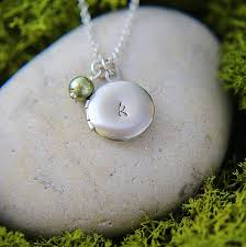 monogram locket necklace personalized locket necklace silver locket pendant personalized
