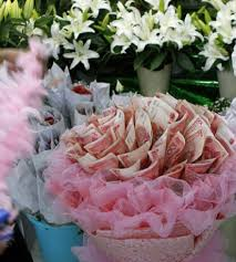 money flowers photo of money flowers made in xi an flower shop goes viral online