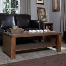 Lower Coffee Table by Belham Living Brinfield Rustic Solid Wood Coffee Table Hayneedle