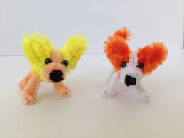 how to make a pipe cleaner corgi dog limpia pipas pinterest