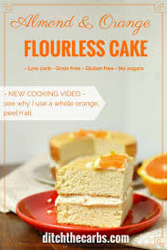 almond and orange flourless cake easy blender recipe