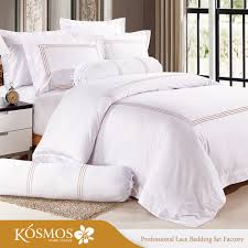 6pcs microfiber lace and embroidery bed sheet sets bedding set