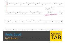 Volumes Behind The Curtain Volumes U2014 Feels Good Guitar Tab And Chords Online View U0026 Play