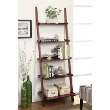 Bookcase Ladder Hardware by Convenience Concepts French Country Bookshelf Ladder White
