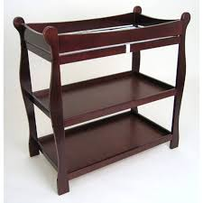 cherry wood crib and changing table decoration u0026 furniture