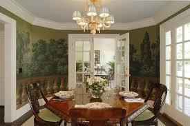 dining room captivating dining room wallpaper murals interior