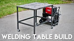 diy welding table plans how to build a welding table from weldtables com youtube