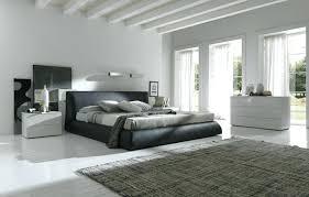chambre à coucher contemporaine chambre grise et dacco noir et blanc de chambre a coucher