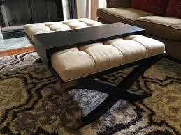 Ottoman Table Combination Ottoman Coffee Table Combo Fabulous Ottoman Coffee Table