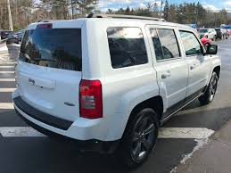 white jeep patriot back used 2015 jeep patriot high altitude in berwick used inventory