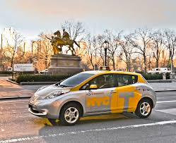 nissan leaf heat pump one new york cabbie loves his nissan leaf electric taxi