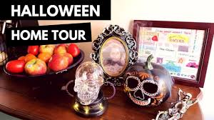 halloween home tour u0026 spoopy decor shopping vlog target