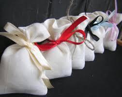 linen favor bags linen gift bags with crochet roses linen pouches linen