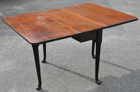Square Drop Leaf Table George Iii Mahogany Gateleg Square Drop Leaf Table On Clubfeet