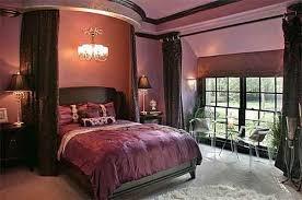 purple and brown bedroom dark purple and black bedroom ideas dark purple leaf pattern bed