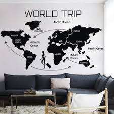 world travel map wall decal world country atlas the whole world world travel map wall decal world country atlas the whole world vinyl sticker 25