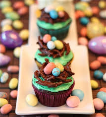 Decorated Easter Cupcakes Recipes by 20 Cute Easter Cupcake Recipes U2013 The Food Explorer